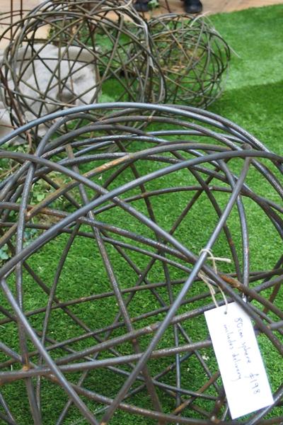 Steel spheres by  moore designs
