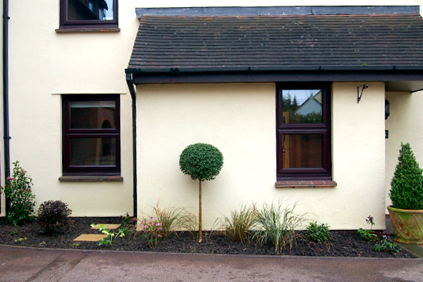 Planting design South Woodford