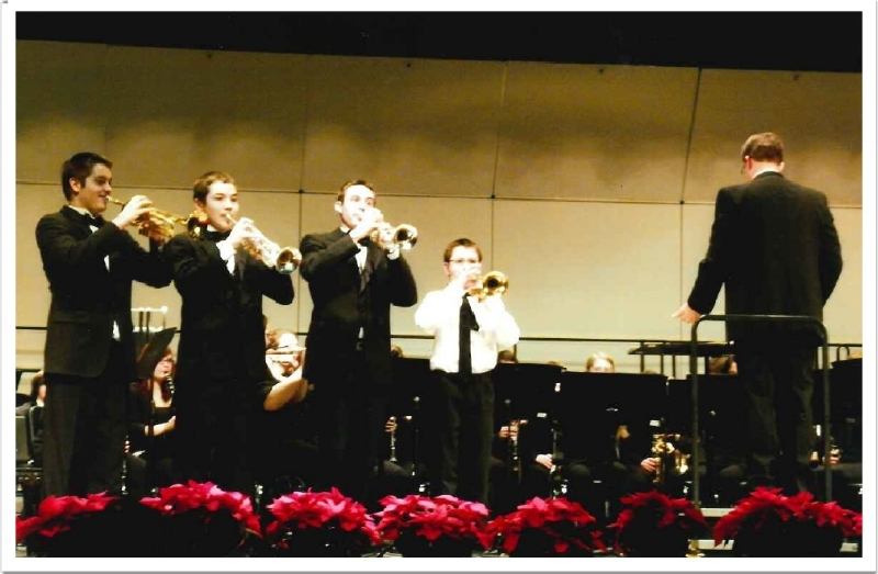 "The Brothers Kremer Performing ""Bugler's Holiday"""