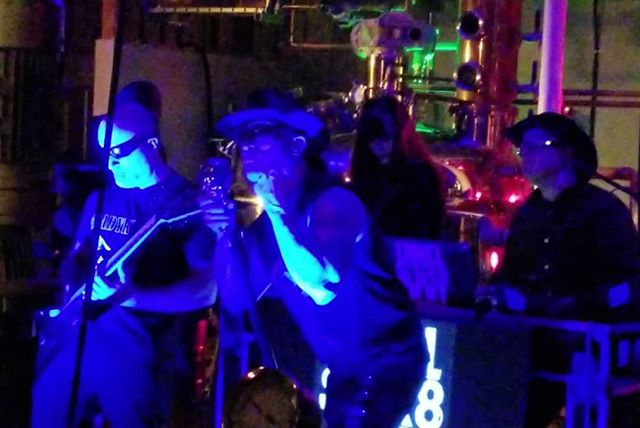 """Thanks to all who came out to be a part of making the new @chmcl_str8jckt Black Vulture video at the distillery. If you like #industrialmusic be sure to check out their new album called """"Wrtchd Thngs""""when it drops April 27th. This album is produced by John Bechdel of Ministry, Killing Joke, and Fear Factory. #industrialelectronicrock #industrialrock #blackvulture #thevulturesaves  #blackvulturevodka #vodka #wrtchdthngs #killingjoke #fearfactory #ministry #wake"""