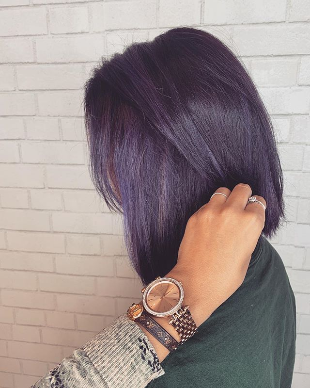 Pulp root purples💜🍇 •••done by stylist LeeAnn @beautybyleeann•••#pulpriot #behindthechair