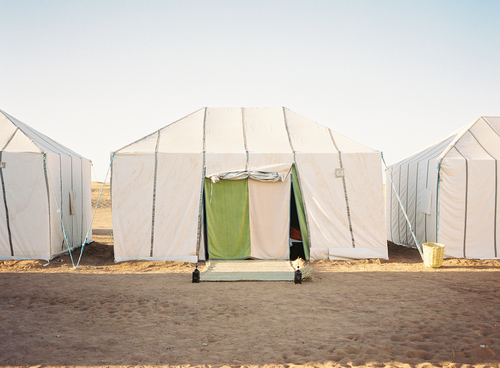 Restival Moroccan tents