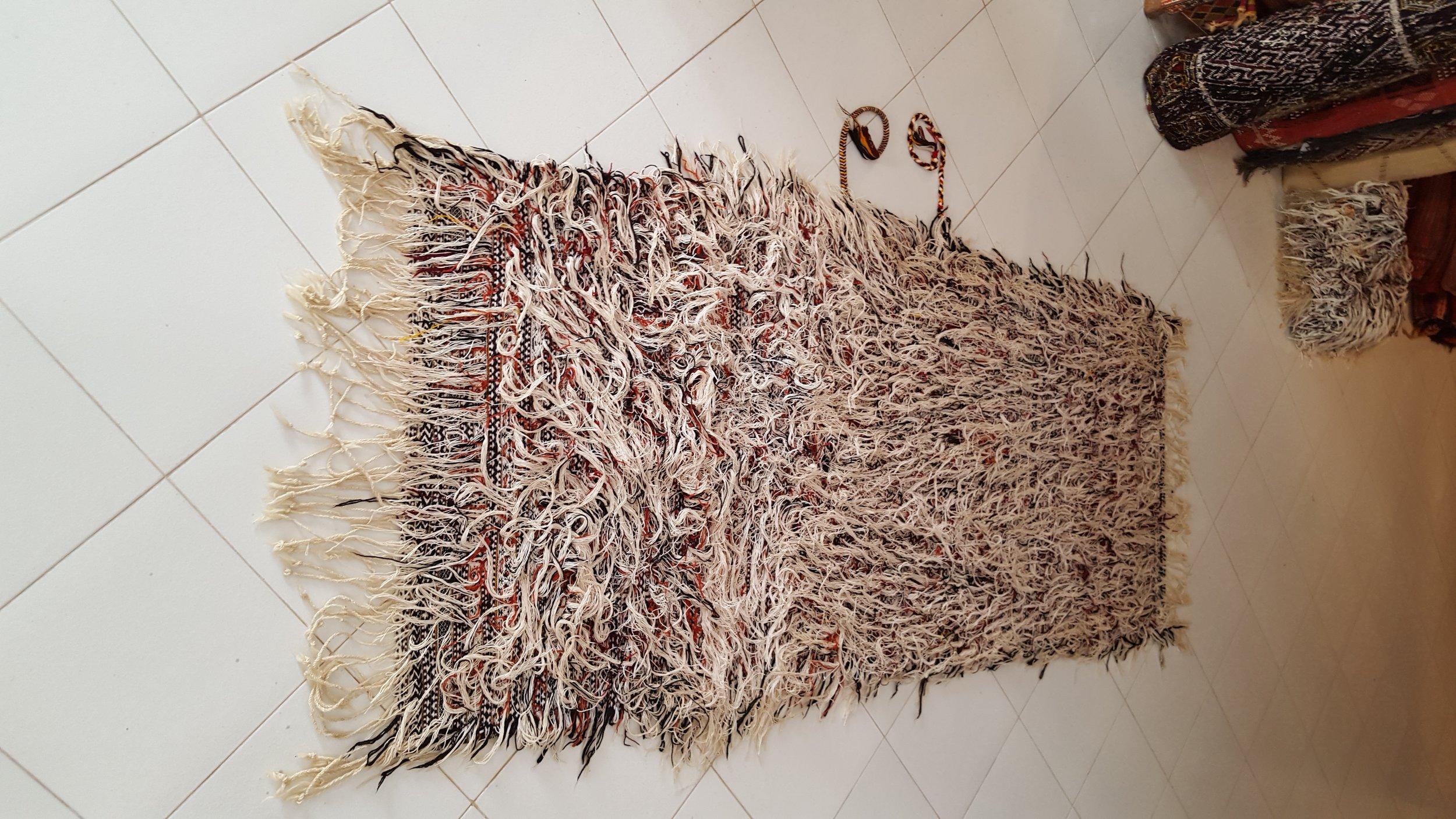 4-Tribal berber Wedding Blanket -Beni Ouarain - Moroccan-berber-carpets.jpg