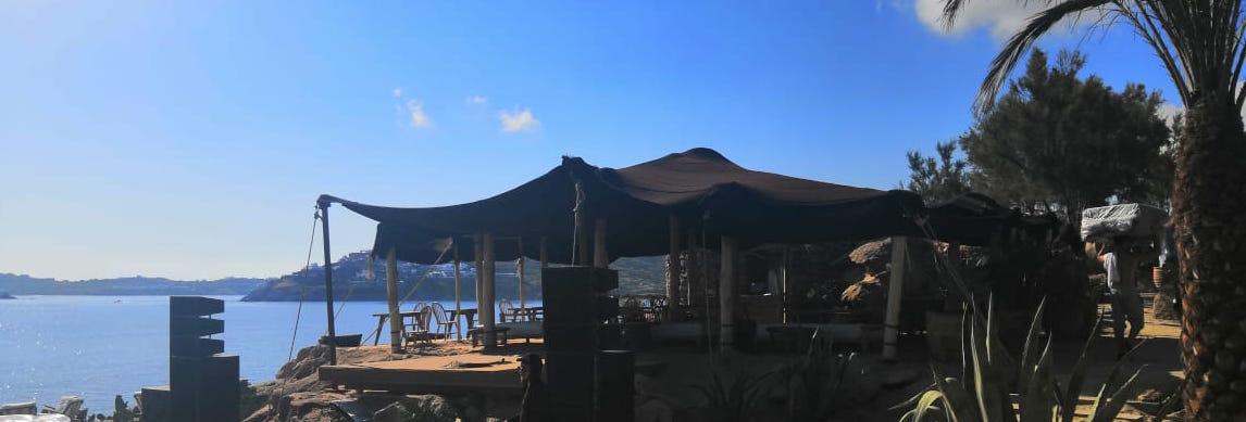 Sunset Restaurant Scorpios Mykonos