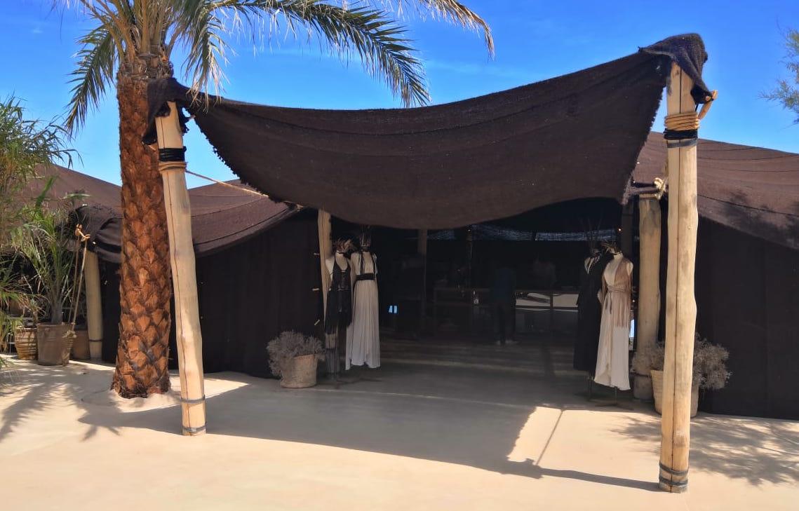 Caravana Shop Tent - Scorpios Tulum