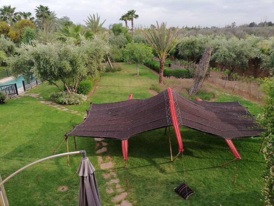 Camel Hair Tent - Camp Adounia