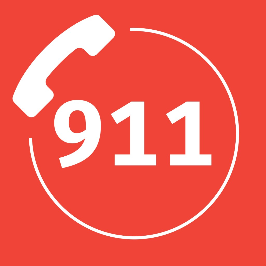 I'm NOT safe. - Dial 911 on your phone and emergency personnel will come to help you.