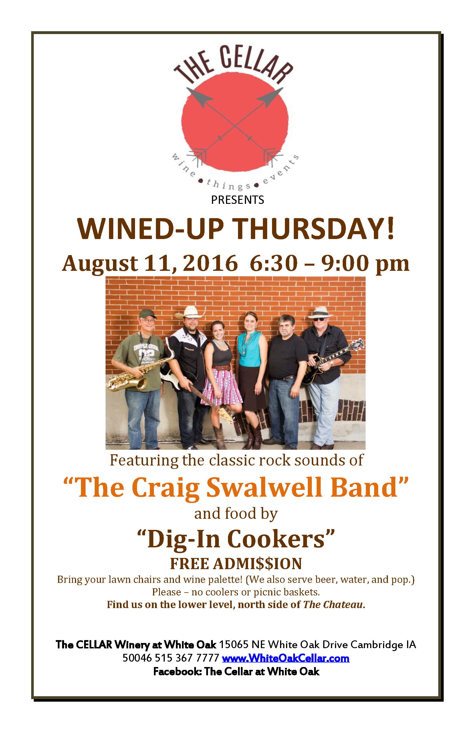 The-Cellar-Wined-Up-Thursdays-The-Craig-Swalwell-Band