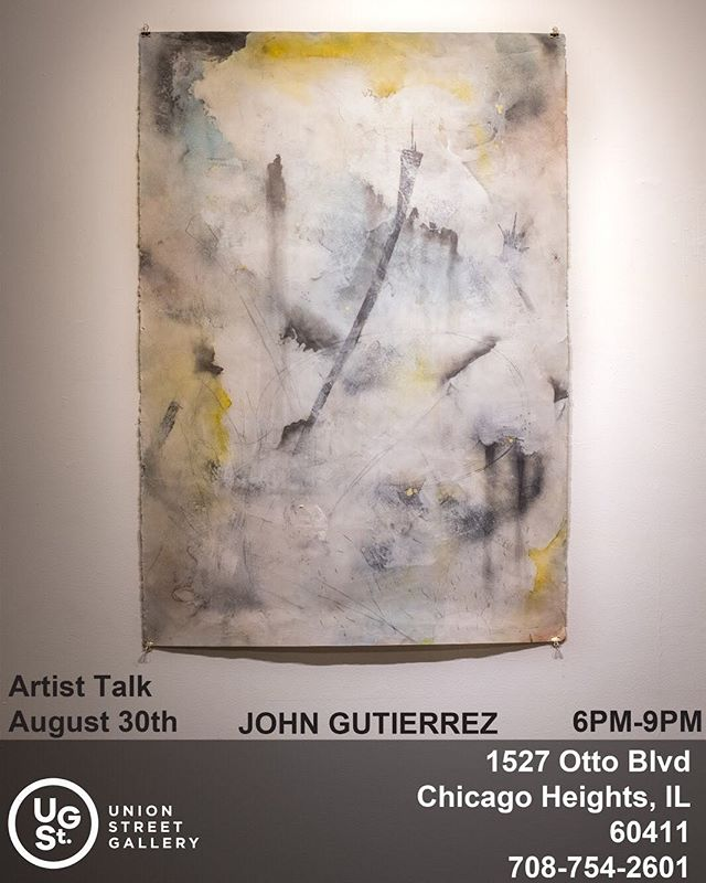 Come experience a night of insightful aesthetic discussion at an artist led by our own John Gutierrez. The event will be on August 30th at @Unionstreetgallery from 6-9 PM. His work exemplifies an artistic methodology honed in color application and expressive marks. #chicagoheights #parkforestartist