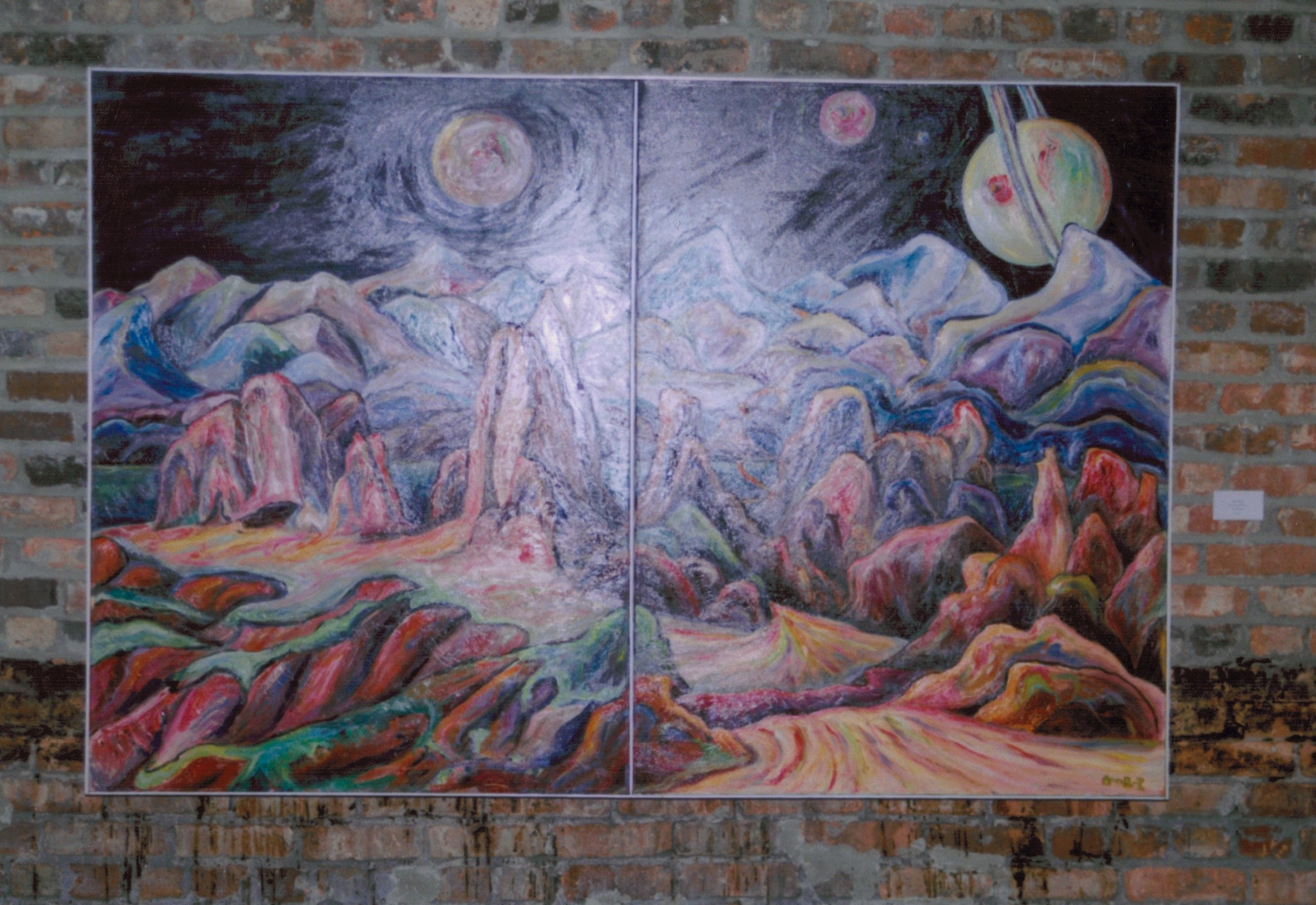 Image of Painting in the original space