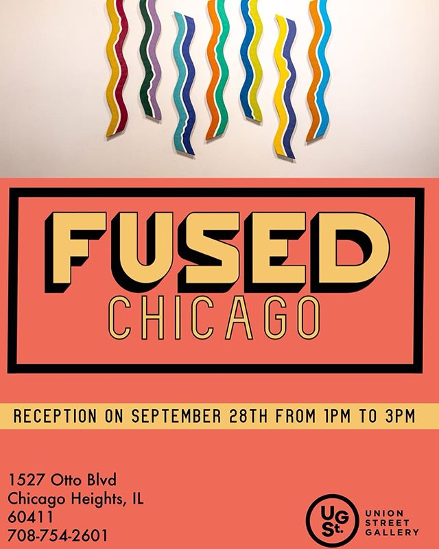 Come join us this Saturday from 1-3 for FUSED Chicago's opening reception at USG! Excellent Encaustic (wax-based painting) with light food and refreshments! #unionstreetgallery #chicagoheights #chicagoarea #encausticpainting #fusedchicago