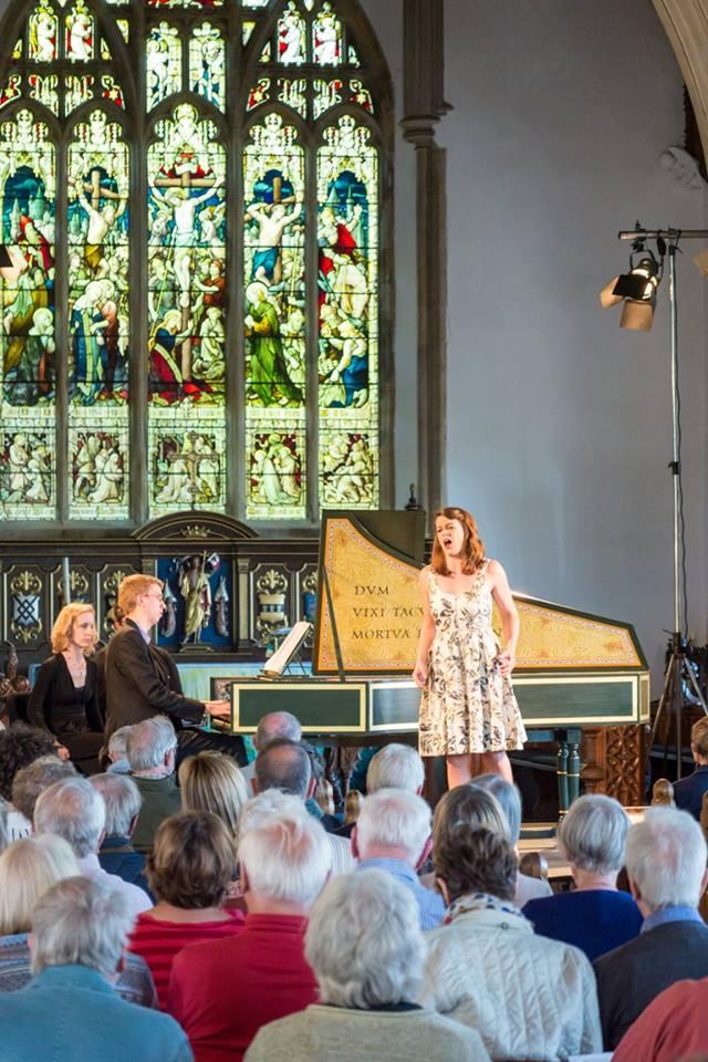 Singing some Handel in Aldeburgh