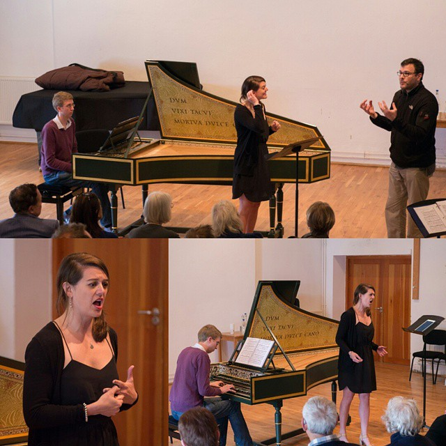 Masterclass and concert series with Andreas Scholl and Tamar Halperin at The Aldeburgh Music Festival and The Britten-Pears Young Artist Programme.