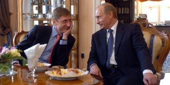 Gyurcsány és Putyin