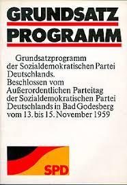 Letértek a forradalom marxi útjáról…  A Német Szociáldemokrata Párt  Bad Godesberg-i programja