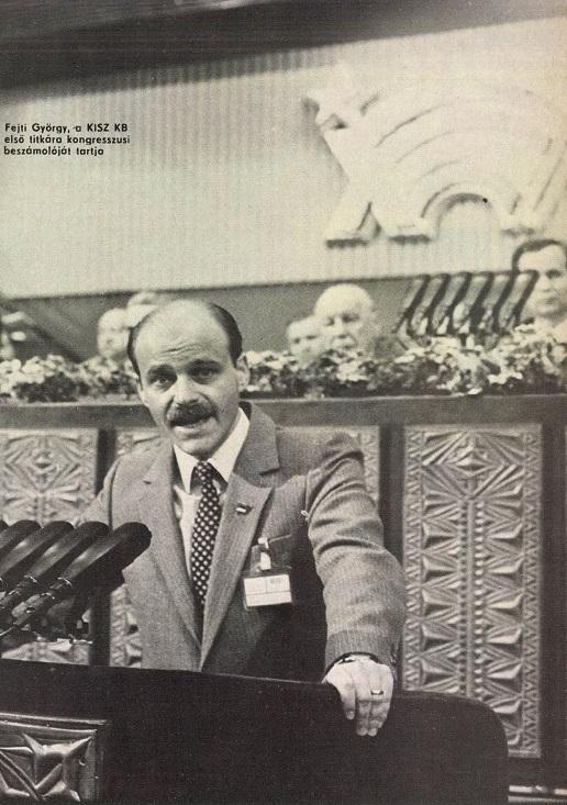 Fejti György, 1987-től az MSZMP Központi  Bizottságának titkára
