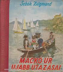 Mackó úr a Balatonon