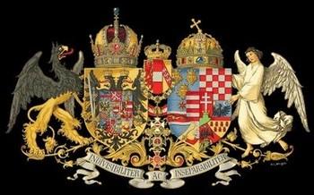 A kettős monarchia közös címere: Inseparabiliter ac indivisibiliter