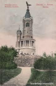Az ezredéves emlékmű Zimonynál