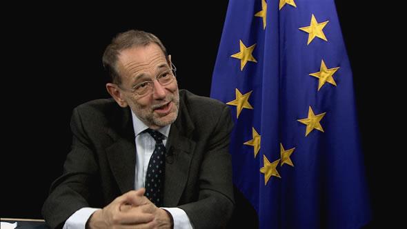 Javier Salona, spanyol politikus, 1999-től 2009-ig az Európai Unió tanácsának főtitkára