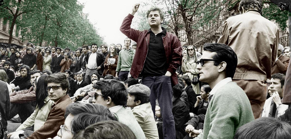 A párizsi diáklázadás, 1968. május. Cohn-Bendit