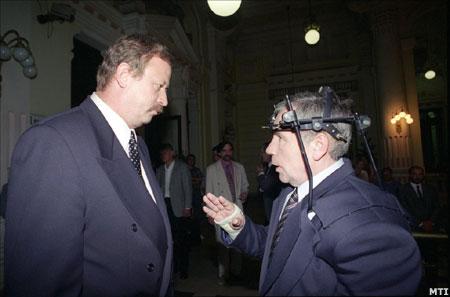 Kuncze Gábor és Horn Gyula, 1994. Ki a nagyobb?