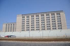 A Fővárosi Bv. Intézet Venyige utcai épülete.  Itt tartották fogva azokat, akiket a 2006.  szeptember 18-át követő napokban őrizetbe vettek