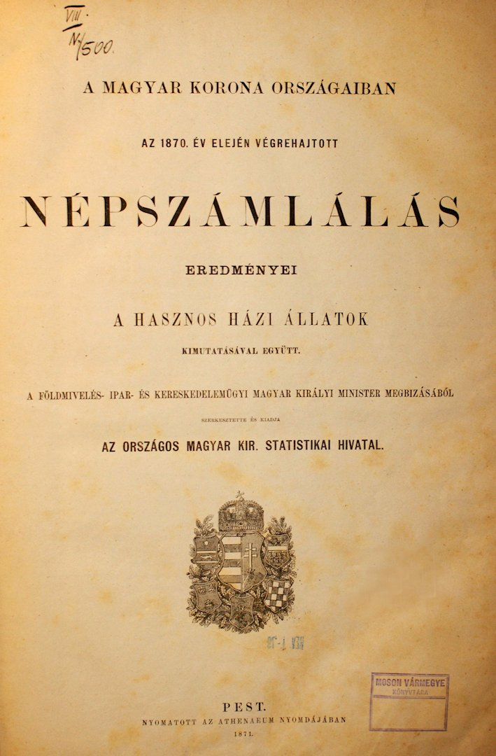 Az 1870-es népszámlálás