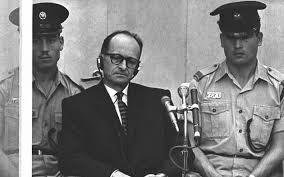 Ítélethirdetés az Eichmann-perben. Jeruzsálem, 1961