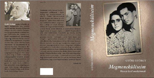 A  Megmeneküléseim  második kiadásának borítója,  2014