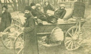 1914 őszén az előre nyomuló orosz csapatok elől ezrek menekültek Galíciából Budapestre és Bécsbe.