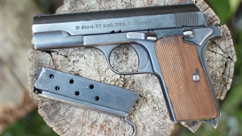 A Frommer Rudolf tervezte magyar gyártmányú  lőfegyver