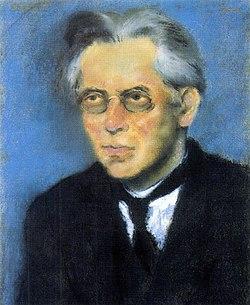 Osvát Ernő. Rippl-Rónai József festménye