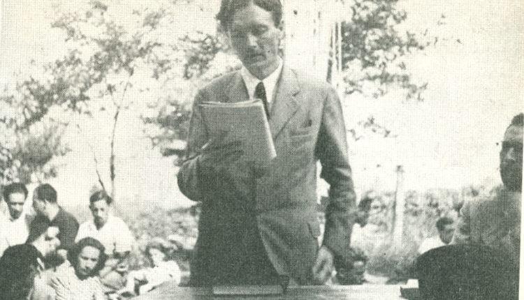 Németh László Szárszón, 1943. augusztus