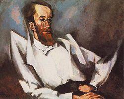 Fülep Lajos. Tihanyi Lajos portréja, 1915.