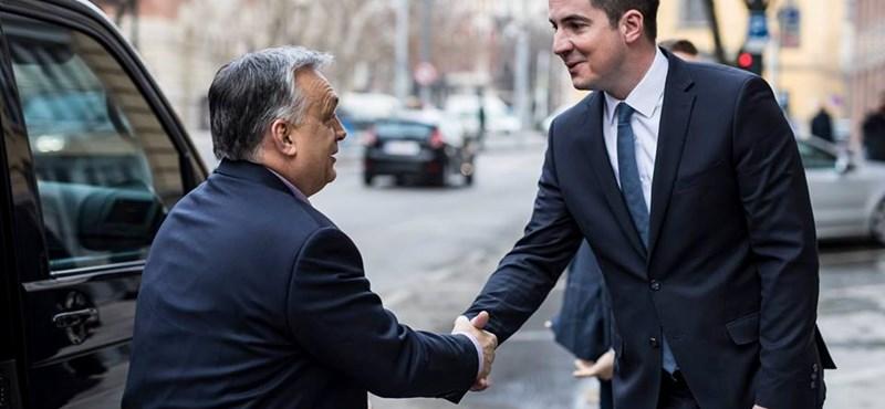 Orbán Viktor és Kocsis Máté
