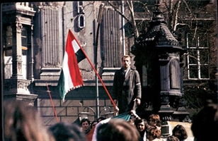 Szalay Miklós beszél 1972. március 15-én Börtönbüntetésre ítélték