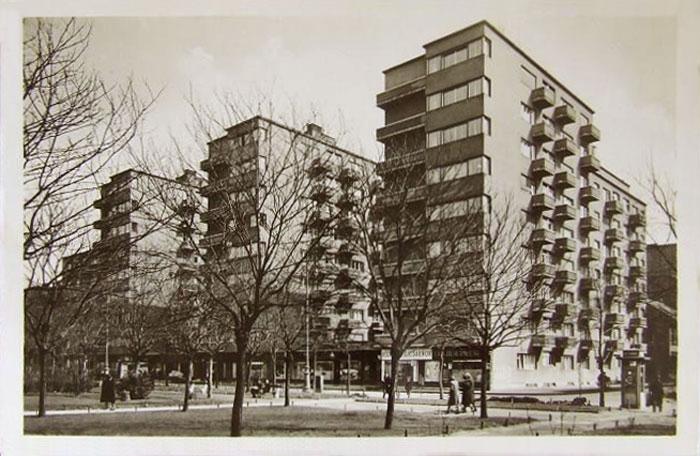 Az OTI bérházai a VIII. kerületben, 1939
