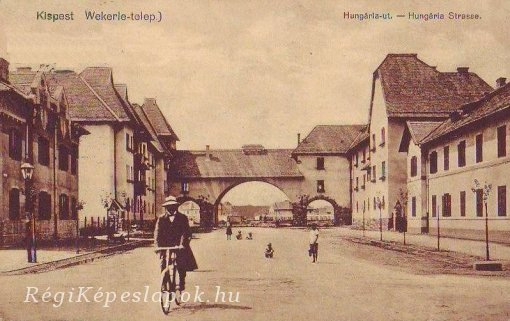 Kispest, Wekerle-telep, 1912