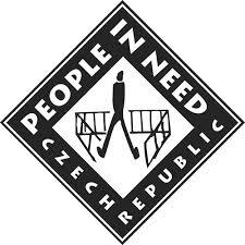 A cseh kezdeményezésre létrejött  nemzetközi segélyszervezet emblémája