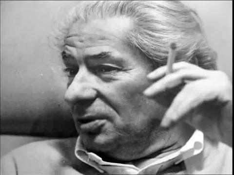 Kemény István. Egy filmkocka Elbert Márta és  Kende Júlia portréfimjéből, 1985