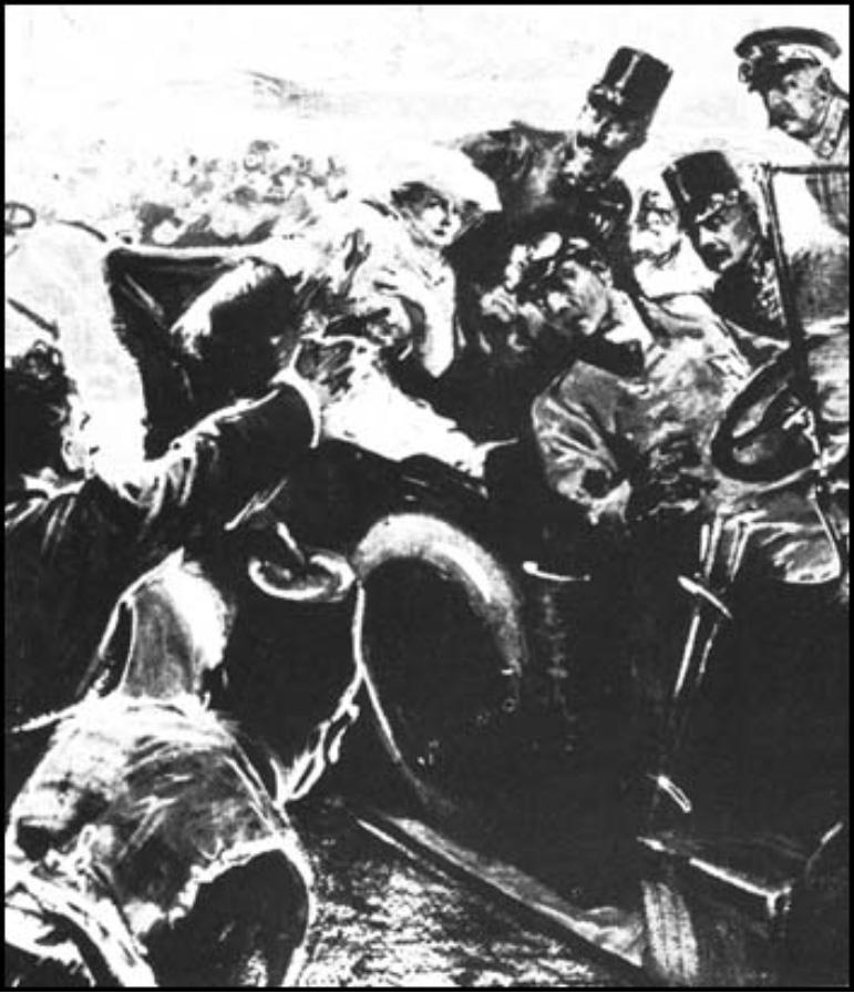 A szarajevói merénylet, 1914. június 28. és…