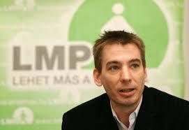 Jávor Benedek, 2010-ben még az LMP  főpolgármester jelöltje volt