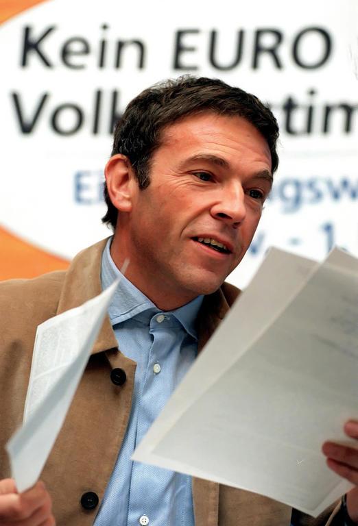 Jörg Haider, az Osztrák Szabadságpárt vezére