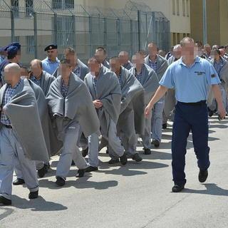 A szombathelyi börtön  (Tánczos Mihály felvétele, nyugat.hu, 2013. július 5.)