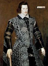 Robert Devereux, Essex grófja, a spanyolok elleni háború hőse. Kegyvesztettként szembefordult  I. Erzsébettel, a királynő kivégeztette
