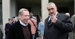 Václav Havel és Karel Schwarzenberg