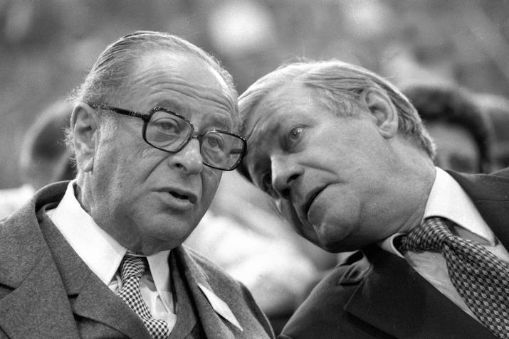 Két kancellár: Bruno Kreisky és Helmut Schmidt