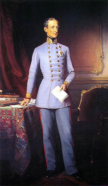 Felix zu Schwarzenberg herceg, az Osztrák Császárság miniszterelnöke (1848–1852)
