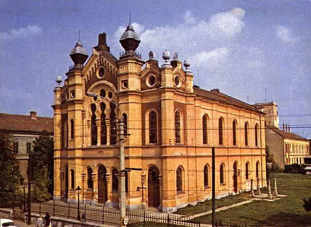 A nagyváradi zsinagóga